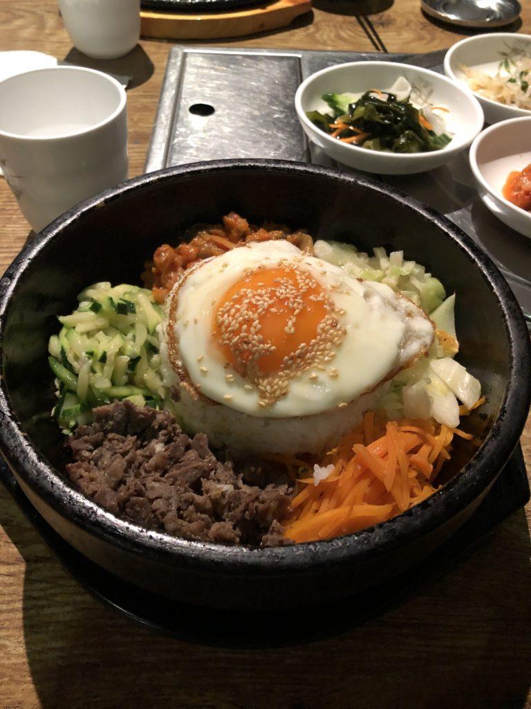 夜ご飯は韓国料理(笑)